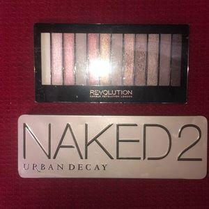 New NAKED 2 Palette & other palette